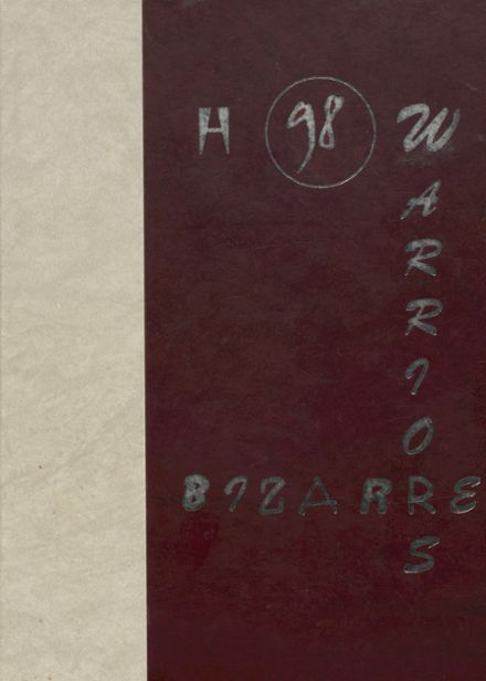 1998 Ripley High School Yearbook Cover