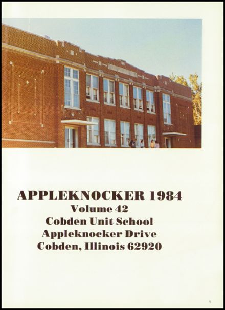 1984 Cobden High School Yearbook Page 5