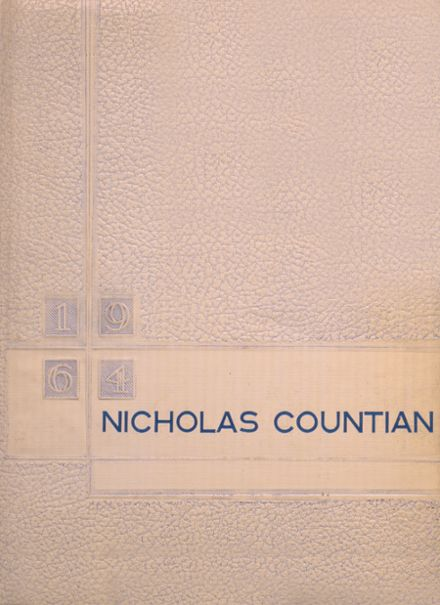1964 Nicholas High School Yearbook Cover