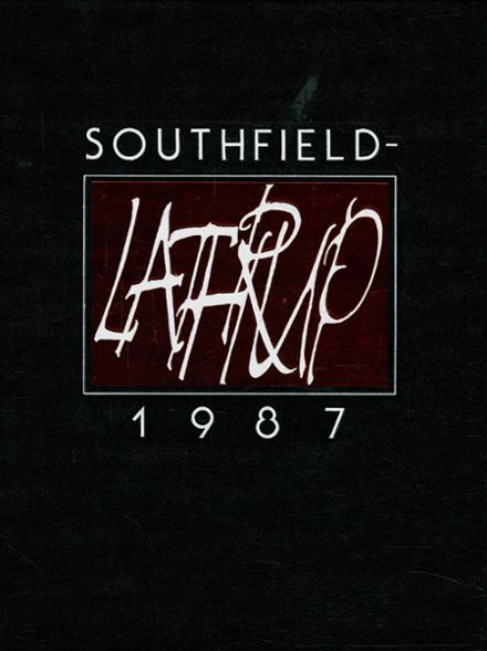 1987 Southfield-Lathrup High School Yearbook Cover