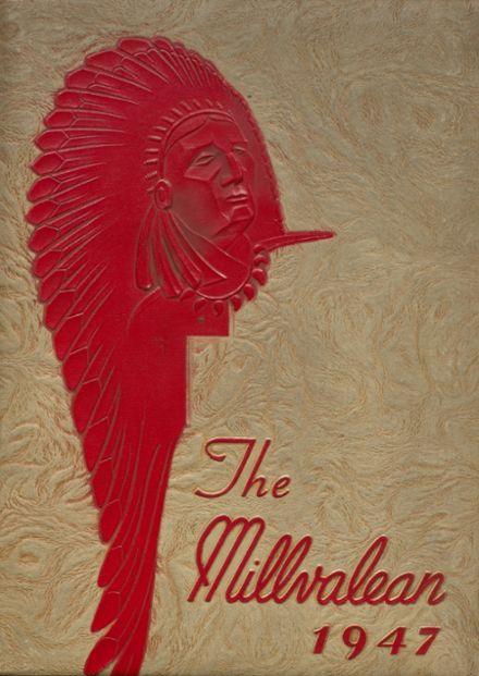 1947 Millvale High School Yearbook Cover