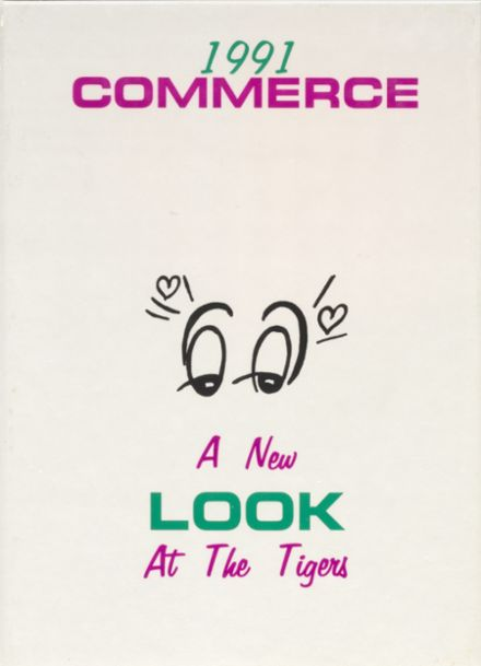 1991 Commerce High School Yearbook Cover