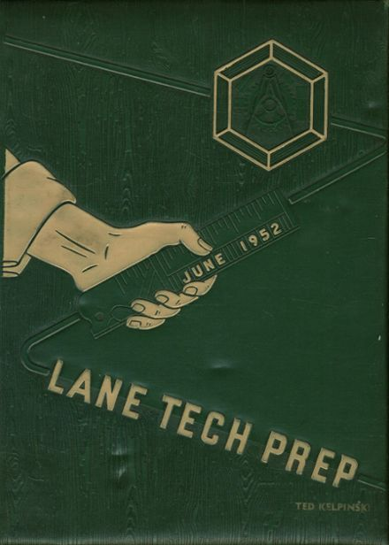 1952 Lane Technical High School Yearbook Cover