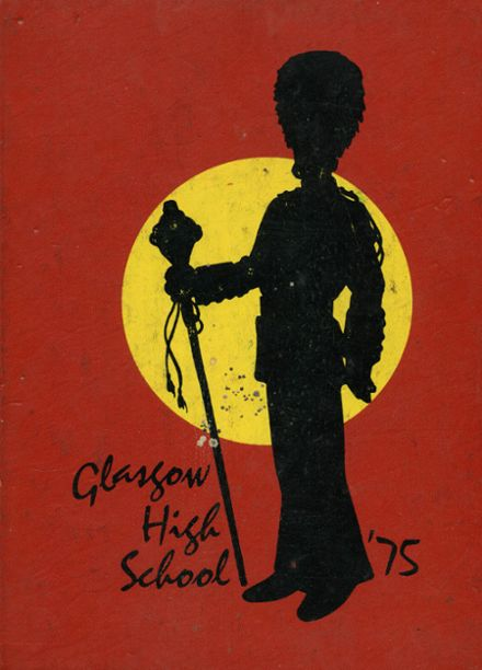 1975 Glasgow High School Yearbook Cover