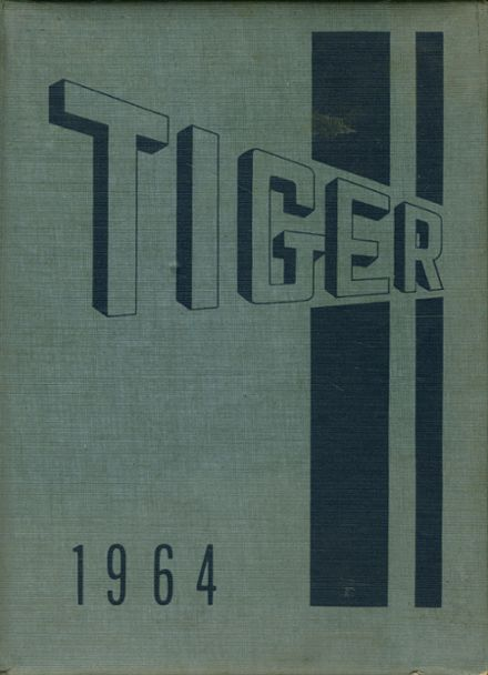 1964 South High School Yearbook Cover