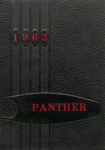 1963 Monticello High School Yearbook Cover