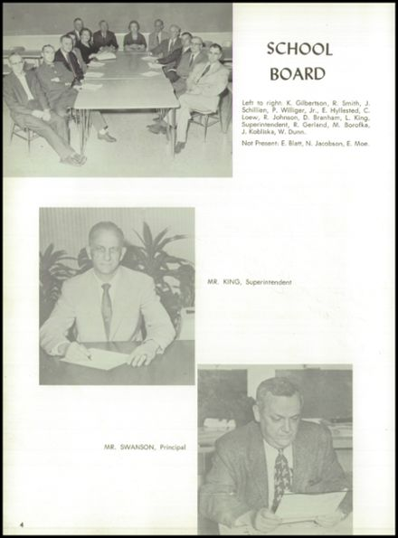 1960 Rice Lake High School Yearbook Page 8