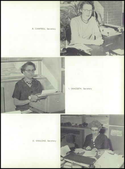 1960 Rice Lake High School Yearbook Page 9