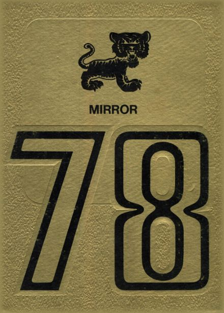 1978 Morgan County High School Yearbook Cover