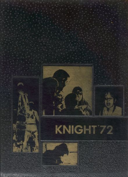 1972 Mater Dei Catholic High School Yearbook Cover