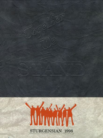 1998 Sturgis High School Yearbook Cover