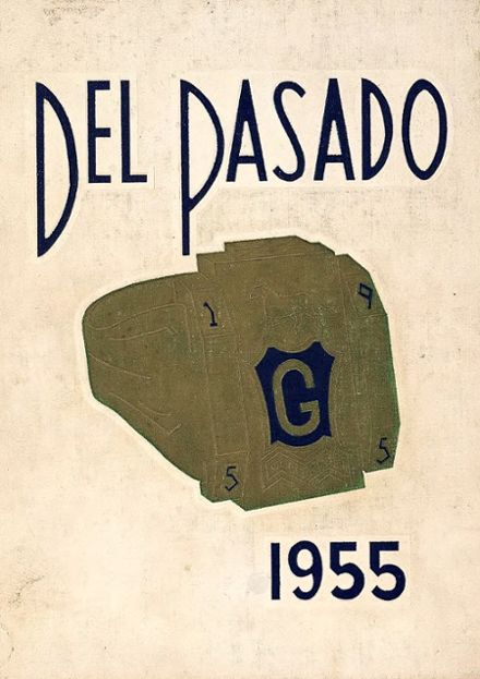 1955 Grant Union High School Yearbook Cover