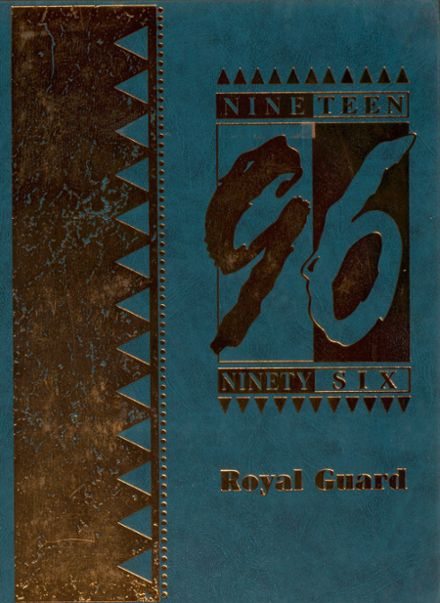 1996 Kings Mills High School Yearbook Cover