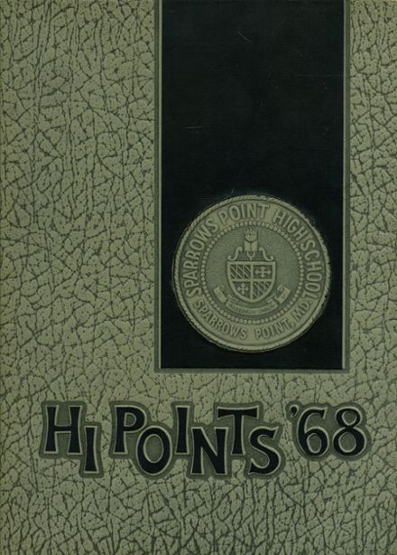 1968 Sparrows Point High School Yearbook Cover