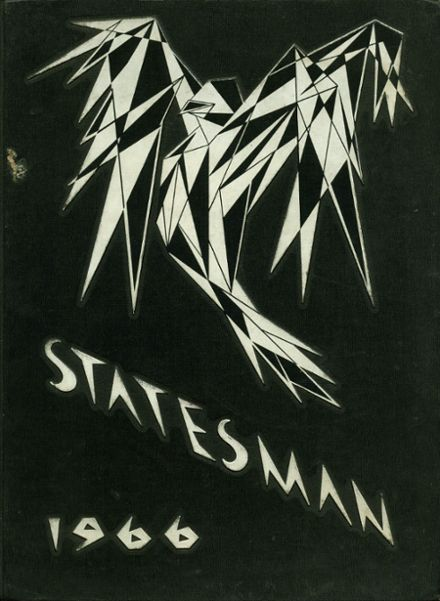 1966 Carl Hayden High School Yearbook Cover