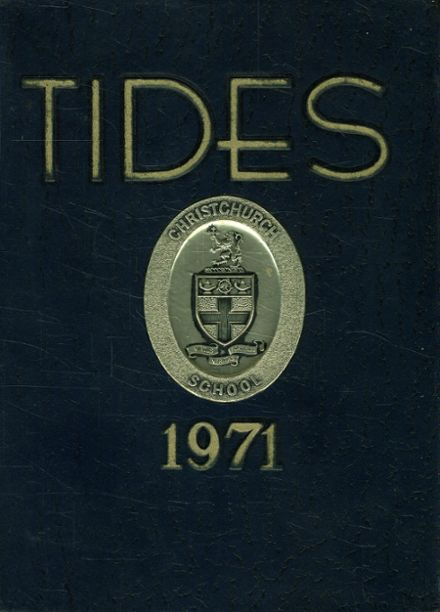 1971 Christchurch School Yearbook Cover