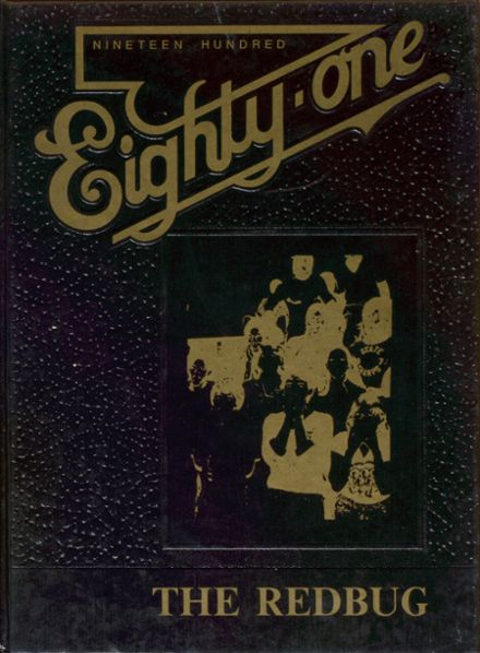 1981 Fordyce High School Yearbook Cover