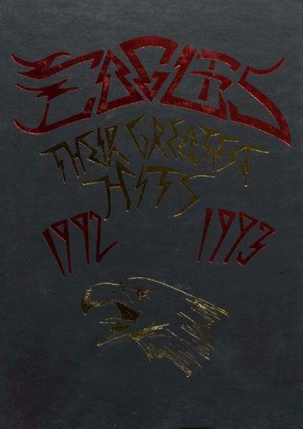 1993 Southern Boone County High School Yearbook Cover