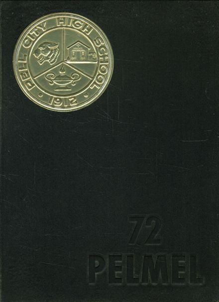1972 Pell City High School Yearbook Cover
