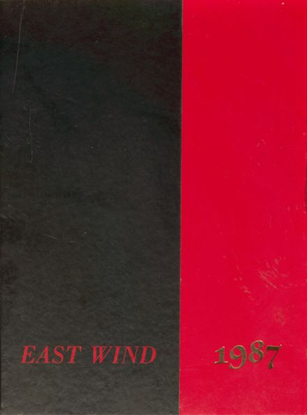 1987 East Surry High School Yearbook Cover
