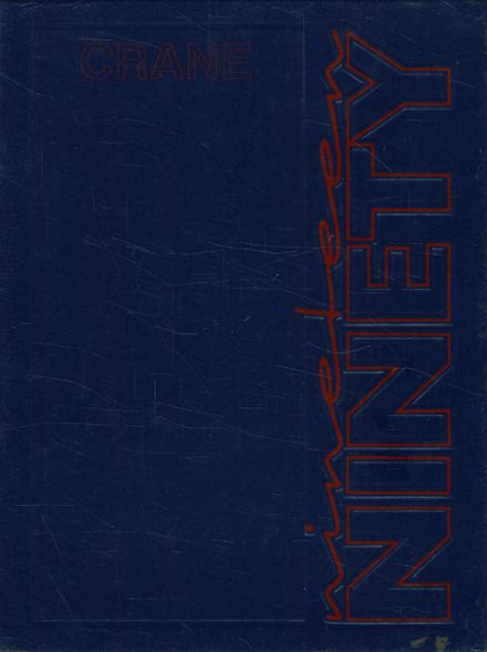 1990 Crane Technical High School Yearbook Cover