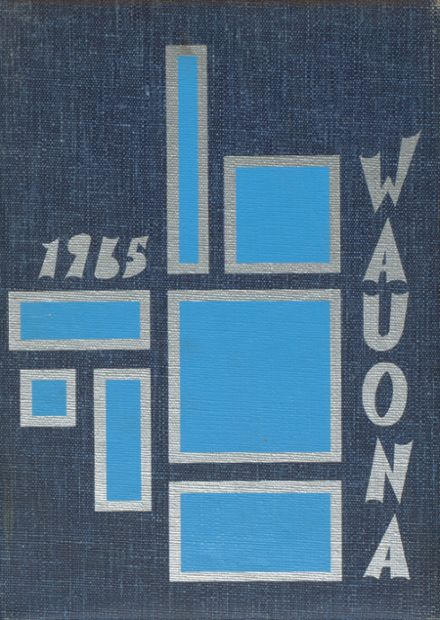 1965 Portage High School Yearbook Cover
