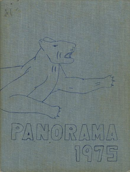 1975 Panama High School Yearbook Page 1