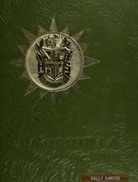 1969 Brawley Union High School Yearbook Cover