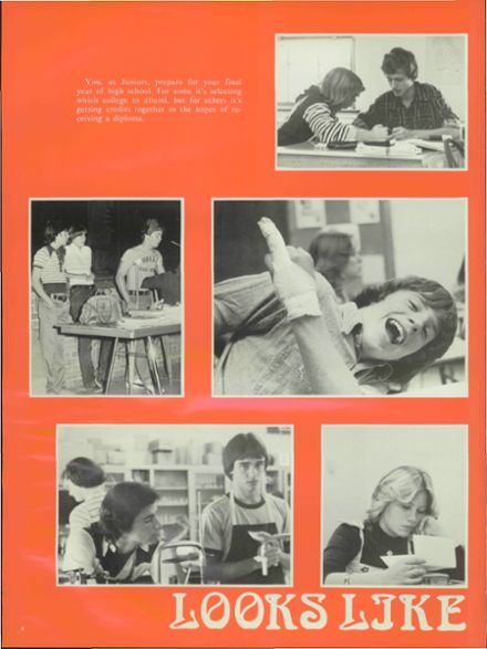 1978 Conrad High School Yearbook Page 8