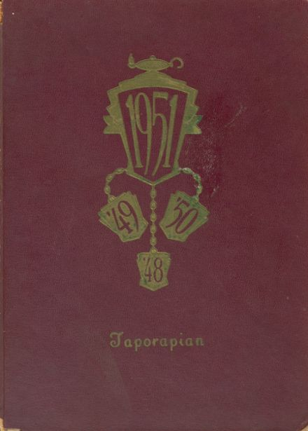 1951 Tappahannock High School Yearbook Cover