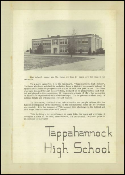 1951 Tappahannock High School Yearbook Page 8