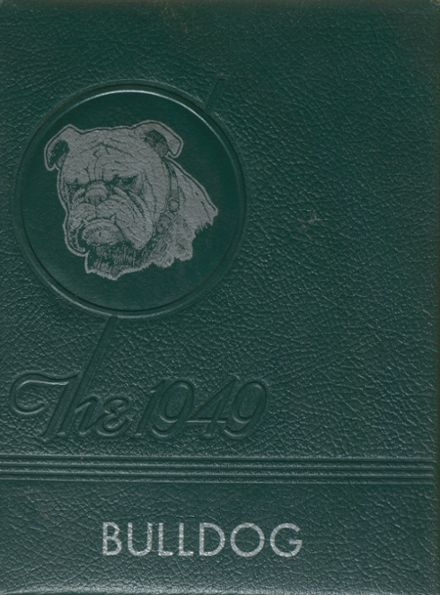 1949 Talent High School Yearbook Cover