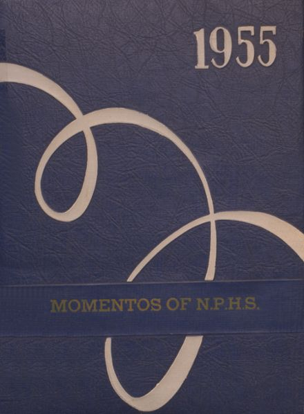 1955 New Point High School Yearbook Cover