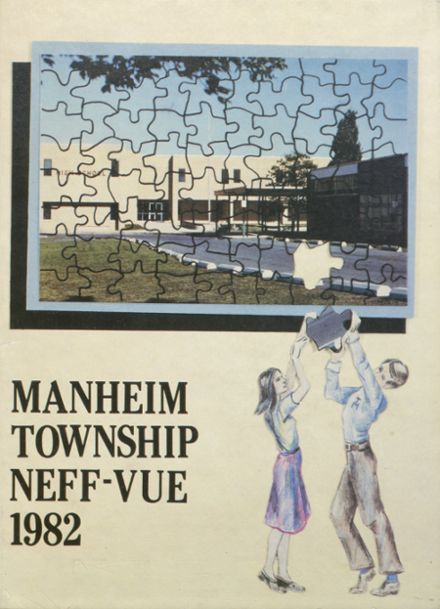 1982 Manheim Township High School Yearbook Cover