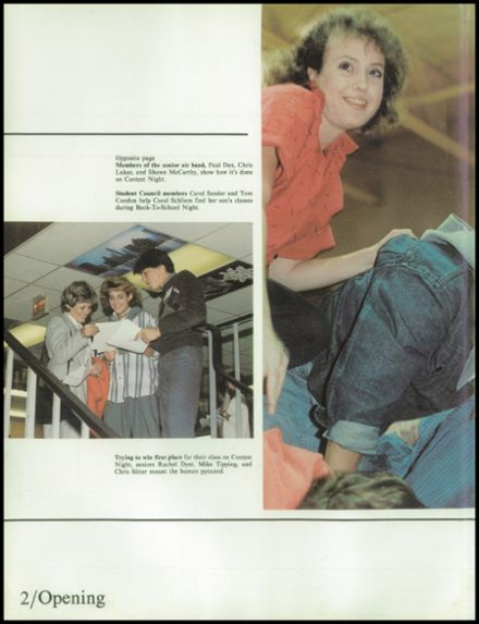 1986 Milton High School Yearbook Page 6