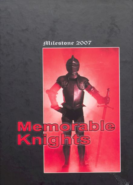 2007 West Essex High School Yearbook Cover