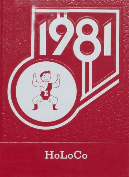 1981 Estherville High School Yearbook Cover