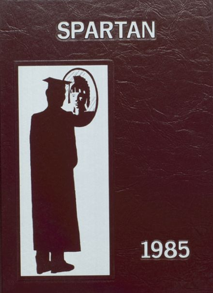 1985 Burnt Hills-Ballston Lake High School Yearbook Cover