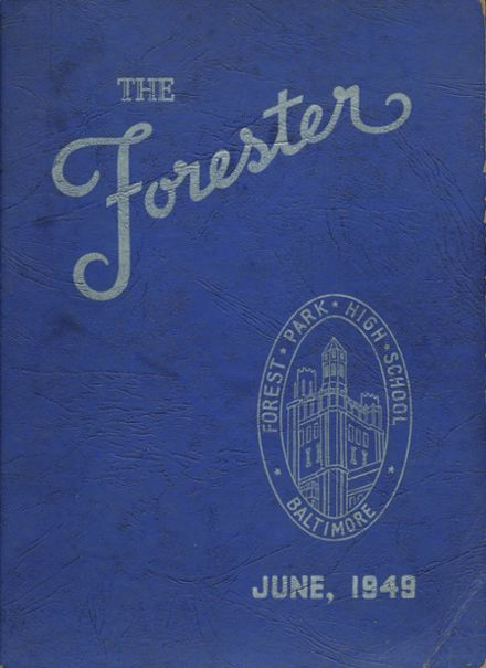 1949 Forest Park High School 406 Yearbook Cover