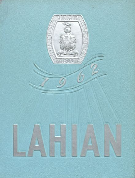 1962 Lansdowne-Aldan High School Yearbook Cover