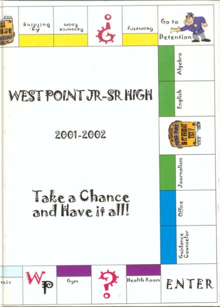 2002 West Point High School Yearbook Cover