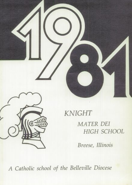 1981 Mater Dei Catholic High School Yearbook Page 5