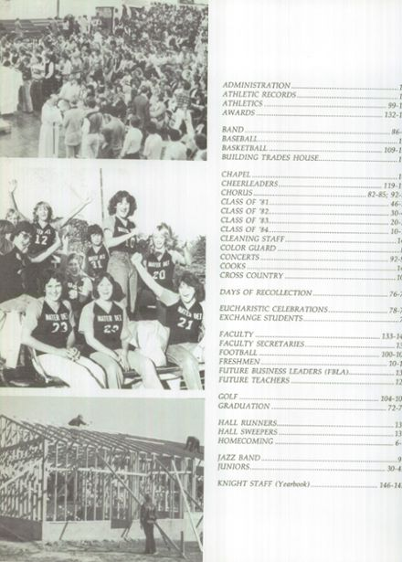 1981 Mater Dei Catholic High School Yearbook Page 6