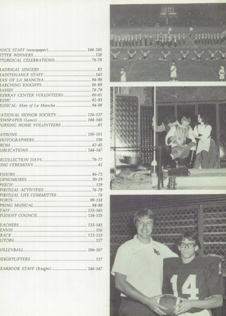 1981 Mater Dei Catholic High School Yearbook Page 7