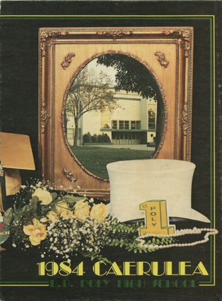 1984 Long Beach Polytechnic High School Yearbook Cover