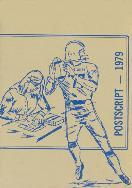 1979 Immaculate Conception High School Yearbook Cover