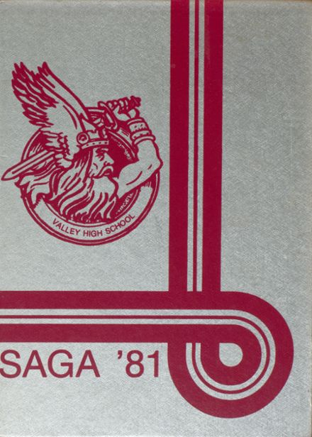 1981 Valley High School Yearbook Cover