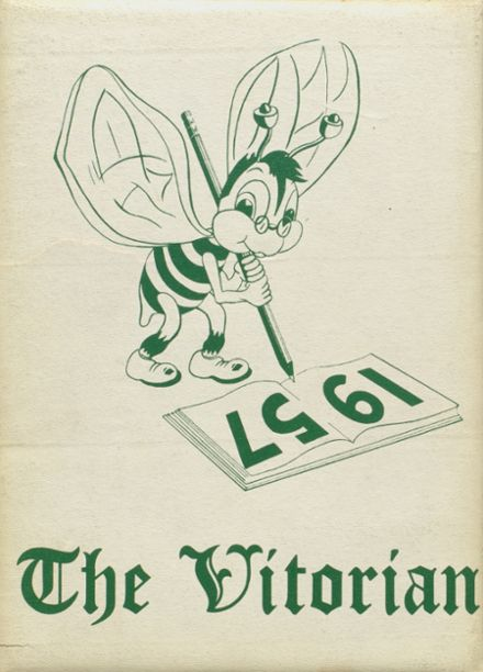 1957 V.I.T. High School Yearbook Cover