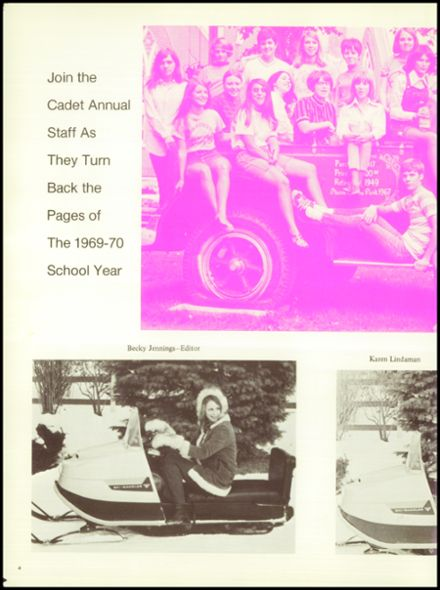 1970 Iowa Falls High School Yearbook Page 8