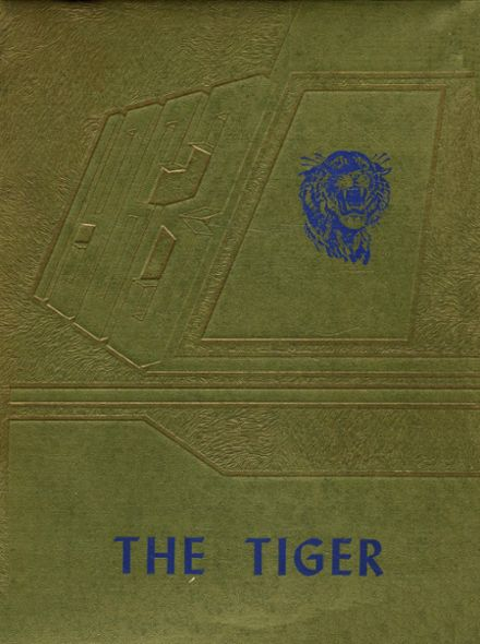 1963 Crystal Springs Consolidated High School Yearbook Cover